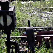 Старите железопътни технологии все още служат вярно на пътниците.