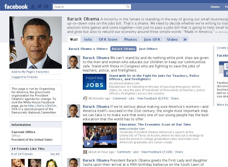 barakobama facebook