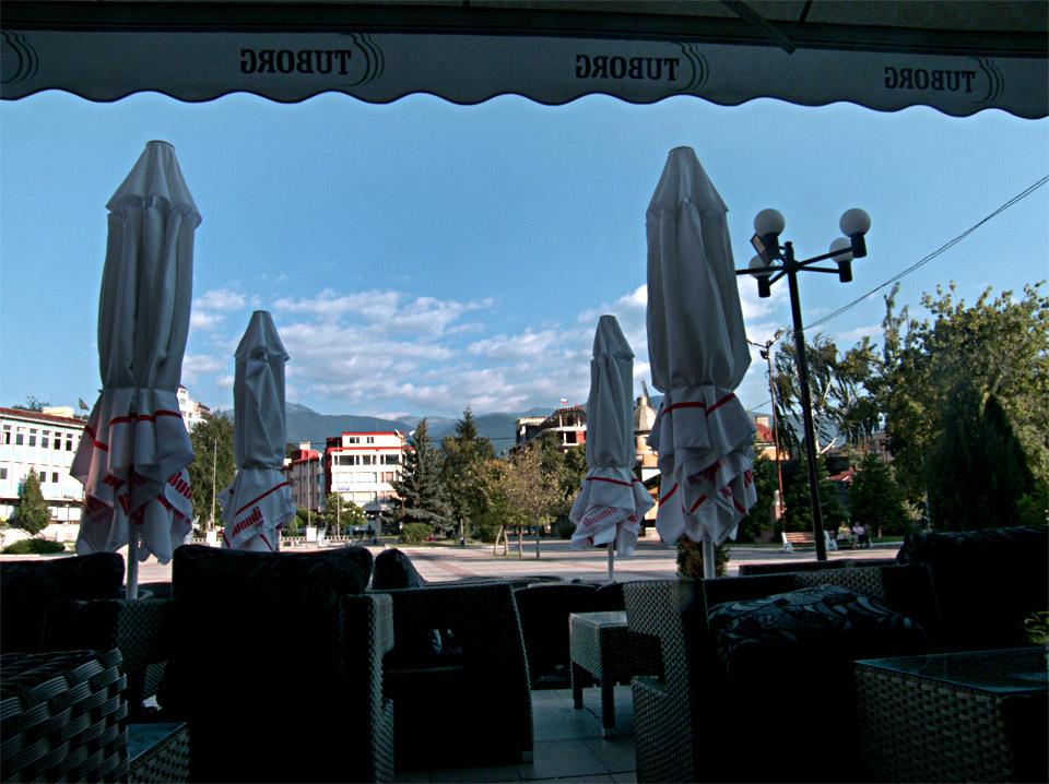 Кафе в центъра на Дупница