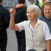 Паунка Чипева е една от най-активните протестиращи